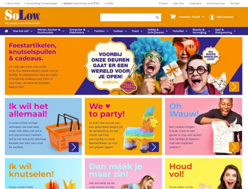 Meerdere filialen koppelen aan één webshop