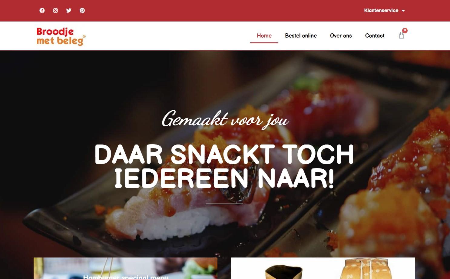 Bestelwebsite koppelen aan MplusKassa