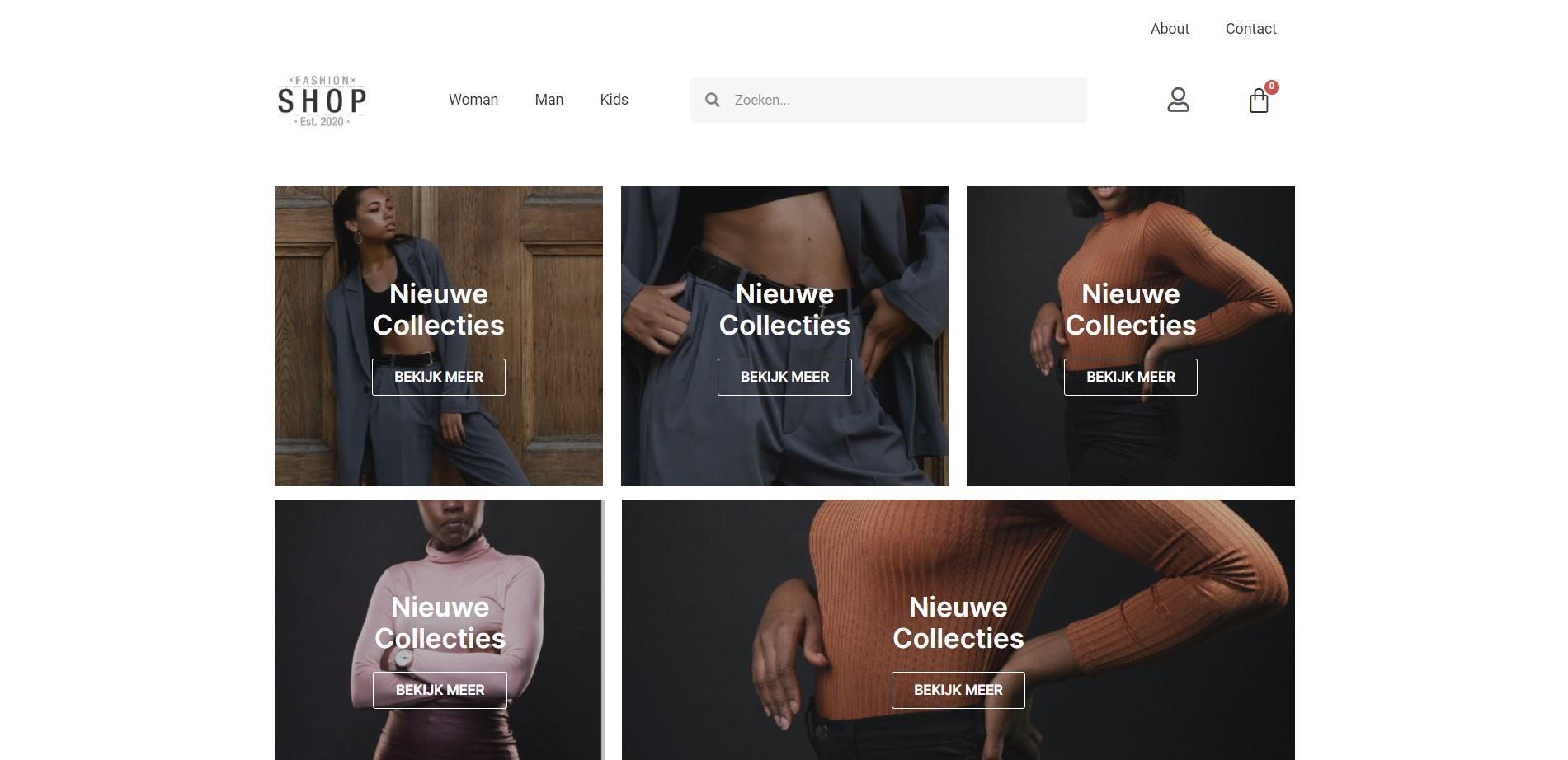 MplusKassa webwinkel voor fashion